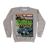 2019 Cruisin Endless Summer official car show athletic gray sweatshirt Ocean City MD