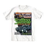 2019 Cruisin Endless Summer official car show event t-shirt white Ocean City MD