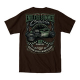 2019 Cruisin Endless Summer official car show event t-shirt dark brown Ocean City MD