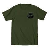2019 Cruisin Endless Summer official car show event t-shirt military green Ocean City MD