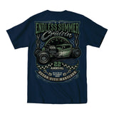 2019 Cruisin Endless Summer official car show event pocket t-shirt navy Ocean City MD rr