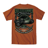2019 Cruisin Endless Summer official car show event t-shirt texas orange Ocean City MD
