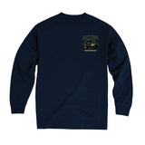 2019 Cruisin Endless Summer car show event long sleeve t-shirt navy Ocean City MD rr