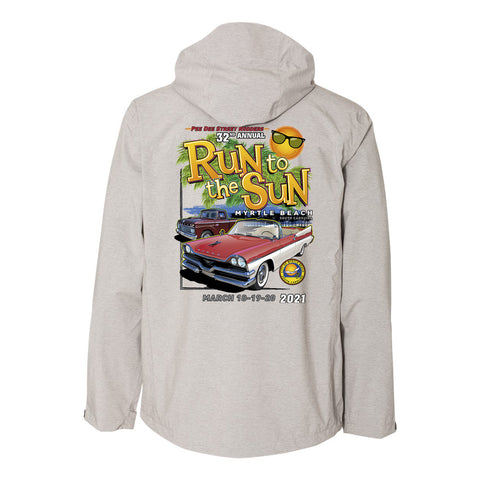 2021 Run to the Sun official car show jacket charcoal Myrtle Beach, SC