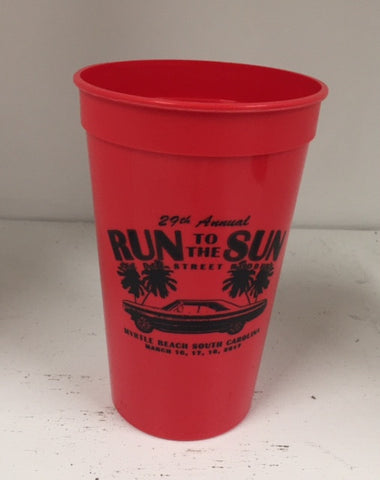 2017 Run to the Sun official car show event red cup Myrtle Beach SC