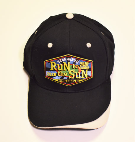 2020 Run to the Sun official car show event hat black with gray accent