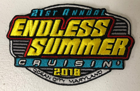 Cruisin Ocean City >> 2018 Endless Summer Cruisin Ocean City Hat Patch Ocean City