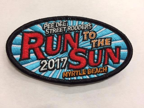 2017 Run to the Sun Hat Patch Myrtle Beach, SC