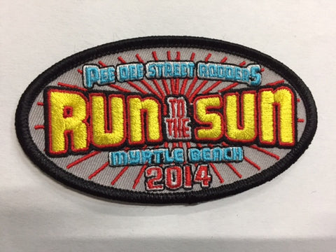 2014 Run to the Sun Hat Patch Myrtle Beach, SC