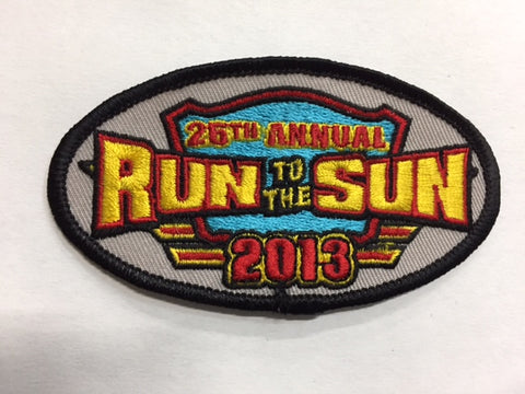 2013 Run to the Sun Hat Patch Myrtle Beach, SC