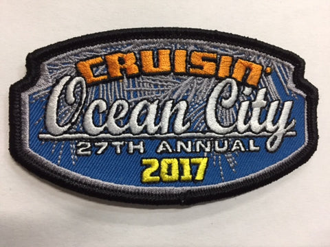 2017 Cruisin Ocean City Hat Patch, Ocean City, Maryland