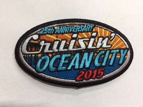 2015 Cruisin Ocean City Hat Patch, Ocean City, Maryland