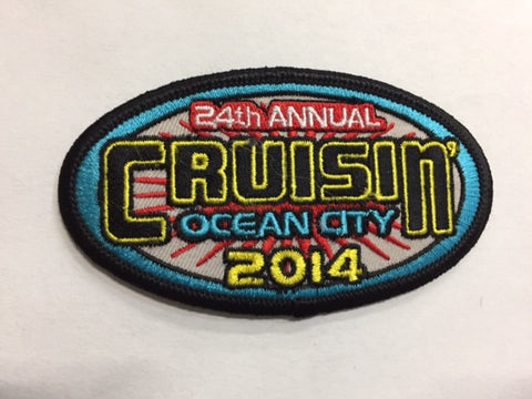 2014 Cruisin Ocean City Hat Patch, Ocean City, Maryland