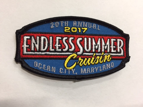 2017 Endless Summer Cruisin Hat Patch, Ocean City, Maryland
