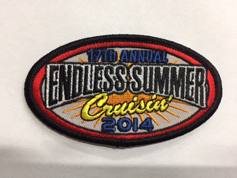 2014 Endless Summer Cruisin Hat Patch, Ocean City, Maryland
