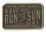 2021 Run to The Sun Hat Patch, Myrtle Beach, SC