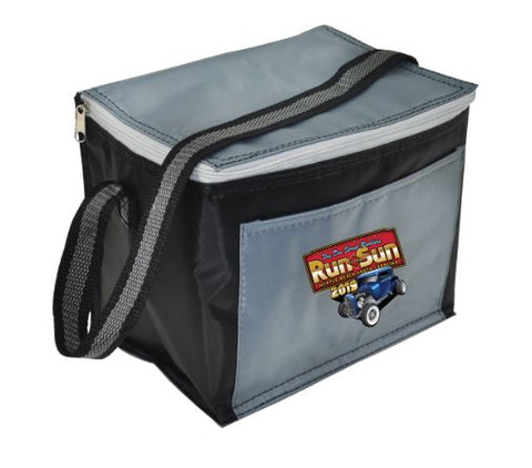 SALE - 2019 Run to The Sun official car show lunch bag 6 pack cooler Myrtle Beach SC