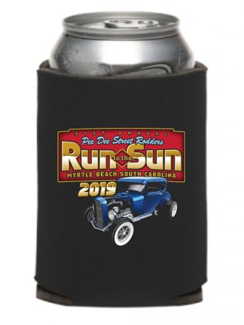 2019 Run to The Sun official car show can coolie (pack of 2) Myrtle Beach SC