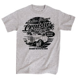2019 Cruisin Endless Summer official car show event t-shirt gray Ocean City MD