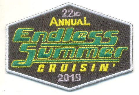 2019 Endless Summer Cruisin Ocean City Hat Patch, Ocean City, Maryland
