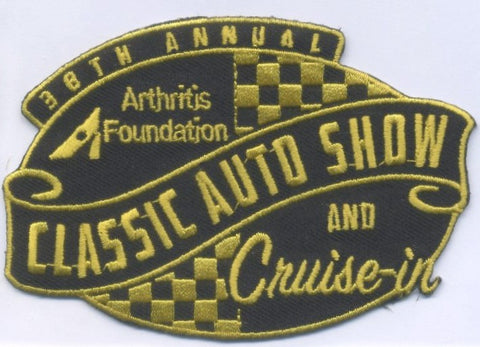 38th Annual Classic Auto Show 2021 Hat Patch