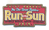 2019 Run to The Sun Hat Patch, Myrtle Beach, SC