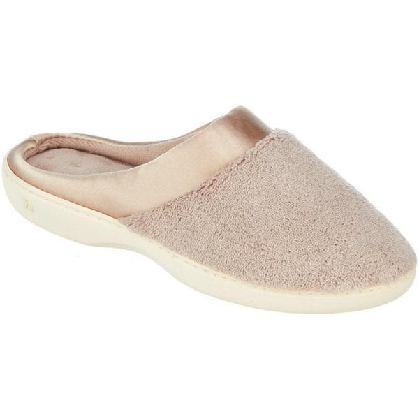 ISOTONER - Microterry Satin Clog Slipper - Assorted Colours