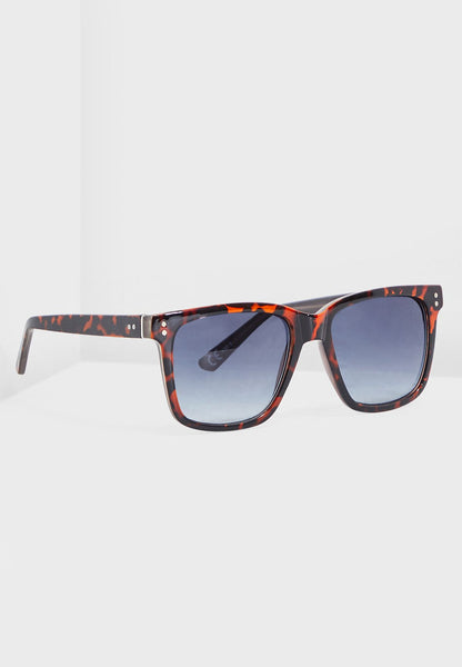 MANGO - Sporty Sunglasses - Brown