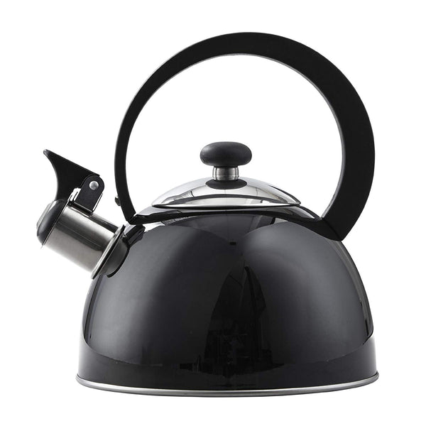 COPCO - 1.3 Quart Kettering Stainless Steel Kettle - Black