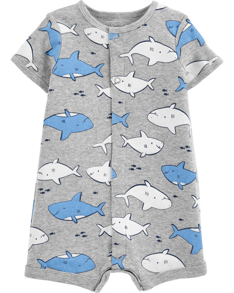 CARTER'S - Shark Snap Up Romper
