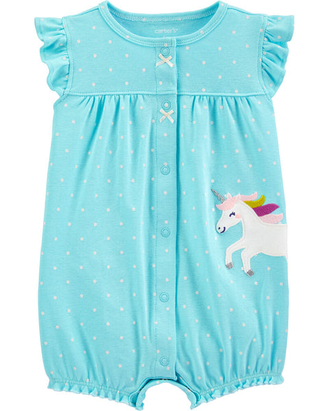CARTER'S - Unicorn Snap Up Romper