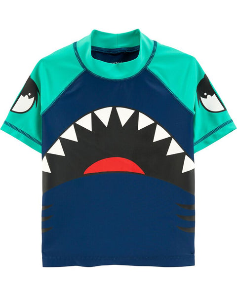 CARTER'S - Fish Rashguard, Toddler Boy