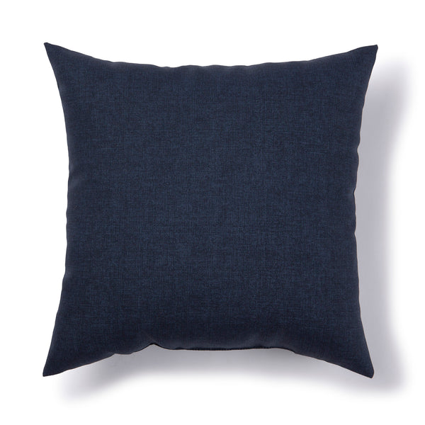 SOLARIS - Solid Outdoor Cushion - Navy