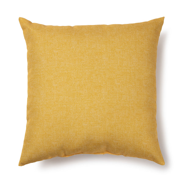 BRENTWOOD ORIGINALS - Solid Outdoor Cushion - Sunshine Yellow
