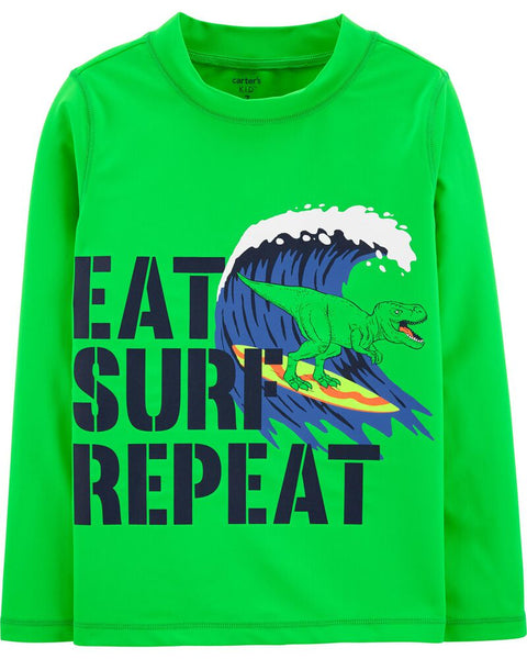 CARTER'S -  Wave Rashguard, Boy 5-8