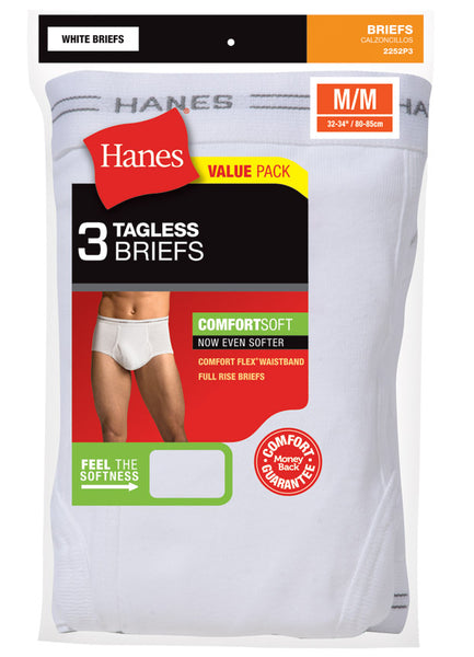 HANES- Brief- 3Pack White