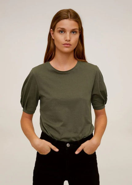 MANGO - Organic Cotton T-Shirt - Assorted Colours