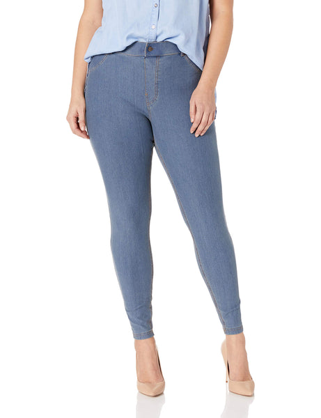 HUE - Plus Size New! Essential Denim leggings- Additional Colors