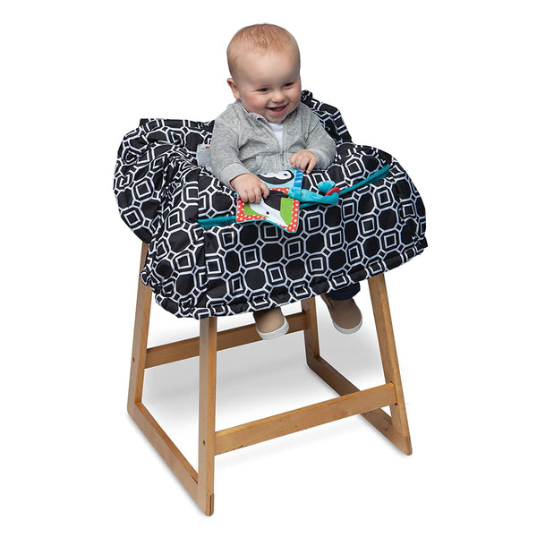 BOPPY - Shopping Cart and Restaurant High Chair Cover, City Squares