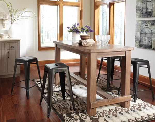 ASHLEY FURNITURE - Pinnadel Counter Height Bar Stool