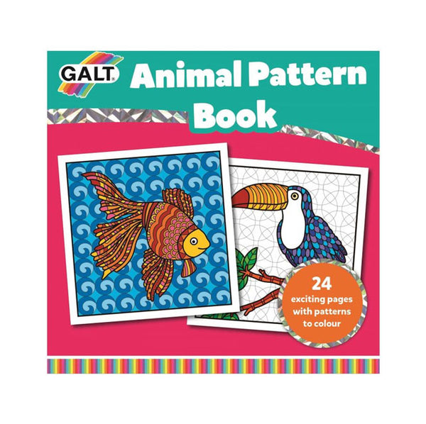 GALT - Animal Pattern Colouring Book