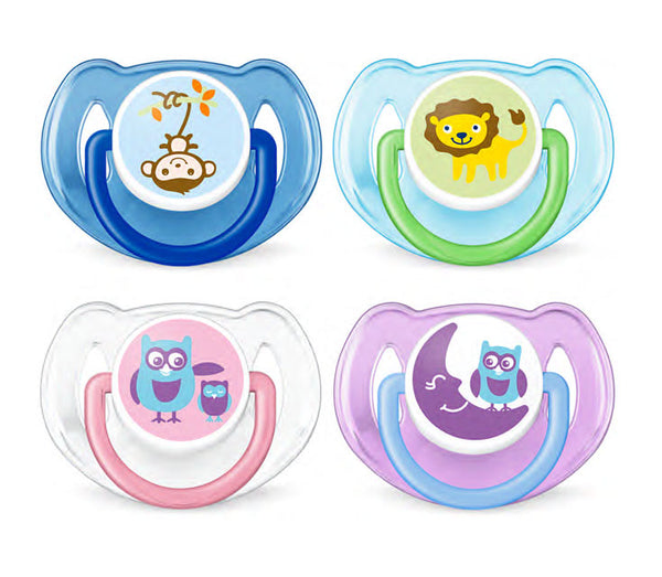 AVENT -  Classic Essential Pacifiers - 6-18M