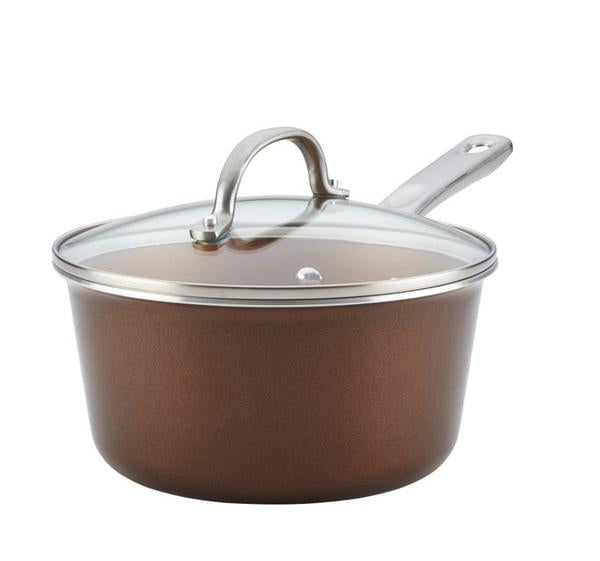 AYESHA CURRY COLLECTION - 3 Quart Sauce Pan - Assorted Colours