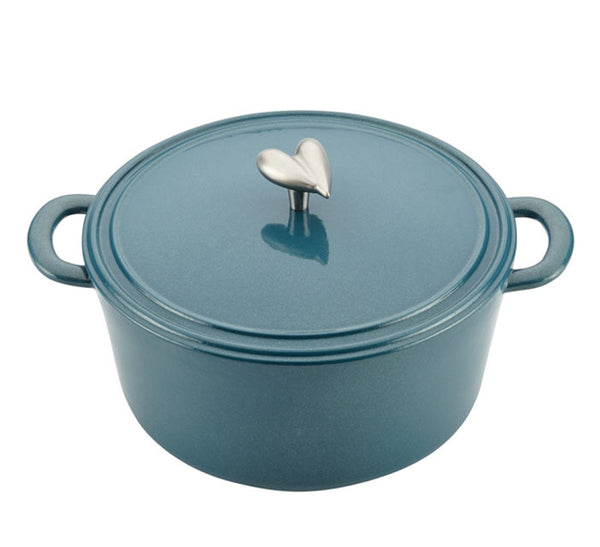 AYESHA CURRY COLLECTION - 6 Quart Covered Dutch Oven - Assorted Colours