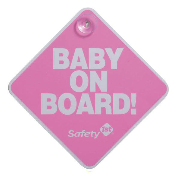 SAFETY 1ST - Baby On Board Sign - Assorted Colours