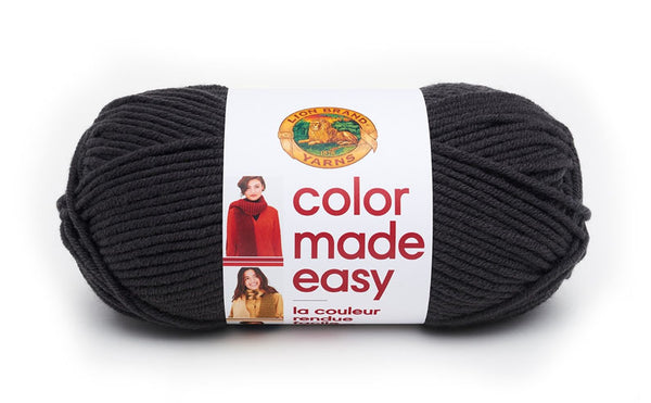 LION BRAND - Color Made Easy Yarn - Assorted Colours