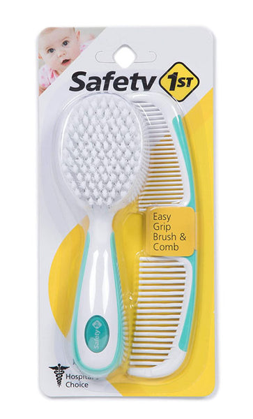 SAFETY 1ST - Combo Brush and Comb Set - Assorted Colours