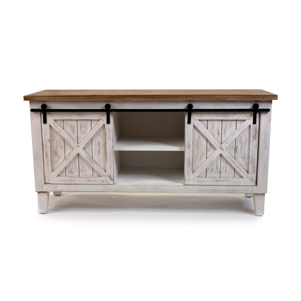 EDEN & WEST - Two Door Accent Cabinet - White