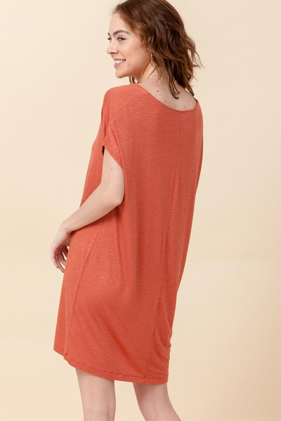 HYFVE - Cap Sleeve Knit Dress