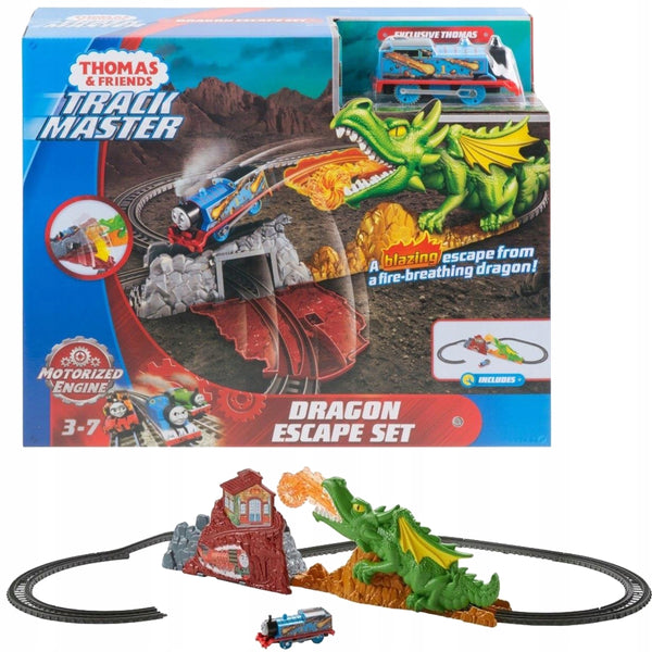 FISHER PRICE Thomas & Friends Trackmaster Dragon Escape Set (3-7Y)